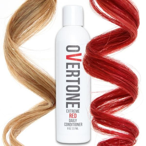 Extreme Red Daily Conditioner With Images Red Hair Shampoo