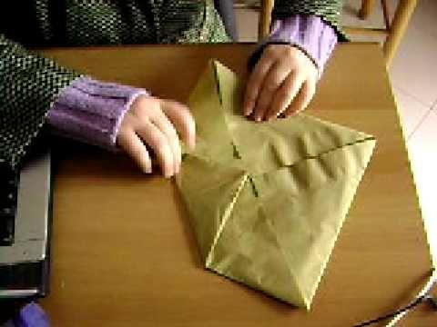 Piegare Asciugamani Forme : Piegare i tovaglioli di carta fiore di loto fiori di carta