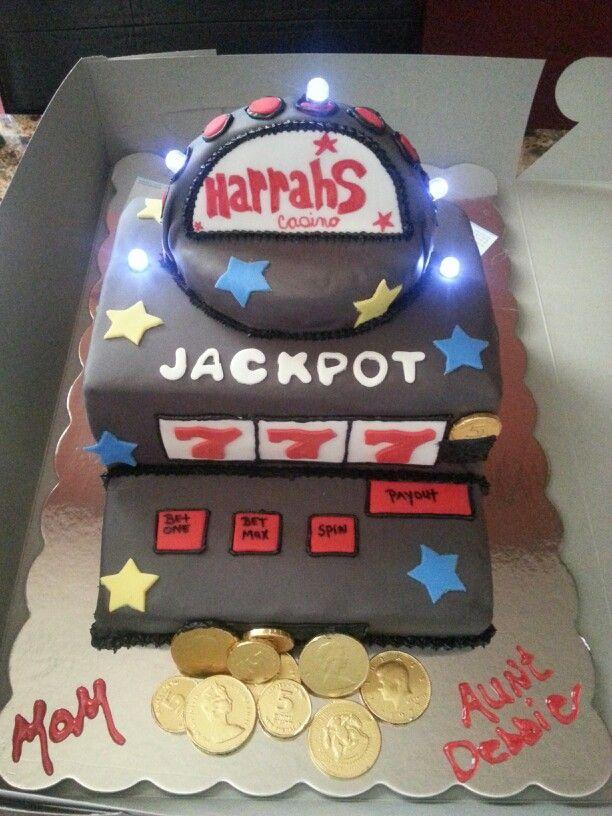 Slot Machine Birthday Cake Creative Cakes By Kerry Pinterest