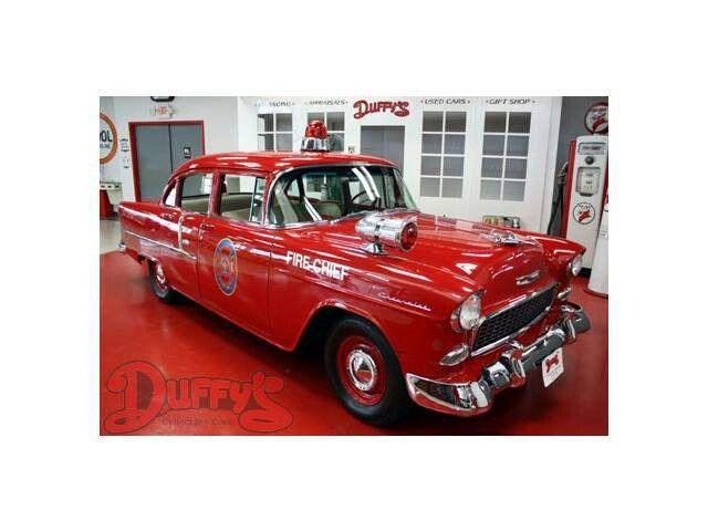 Red Classic Fire Chief S Car Carro De Bombeiro Bombeiro Viatura