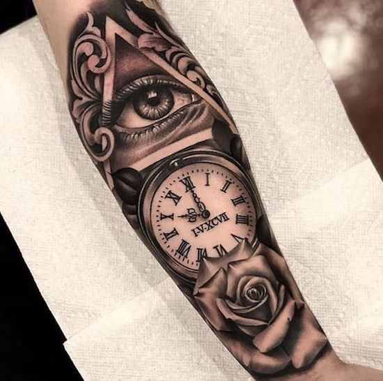 Pin By Jessica Keehn On Living Canvas Watch Tattoos Pocket Watch Tattoos Tattoos