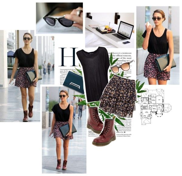 """Jessica Alba's Street Style!"" by fashioneveryday ❤ liked on Polyvore"