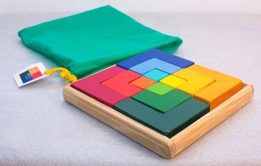 Puzzle Eles Pedagogia Waldorf Juguetes De Madera Comarca De Juguetes