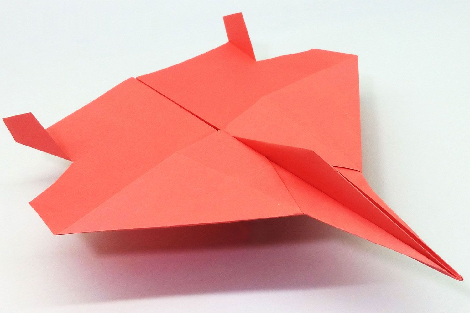 Airplane Making With Color Paper In 2020 Make A Paper Airplane Paper Plane Paper Airplanes