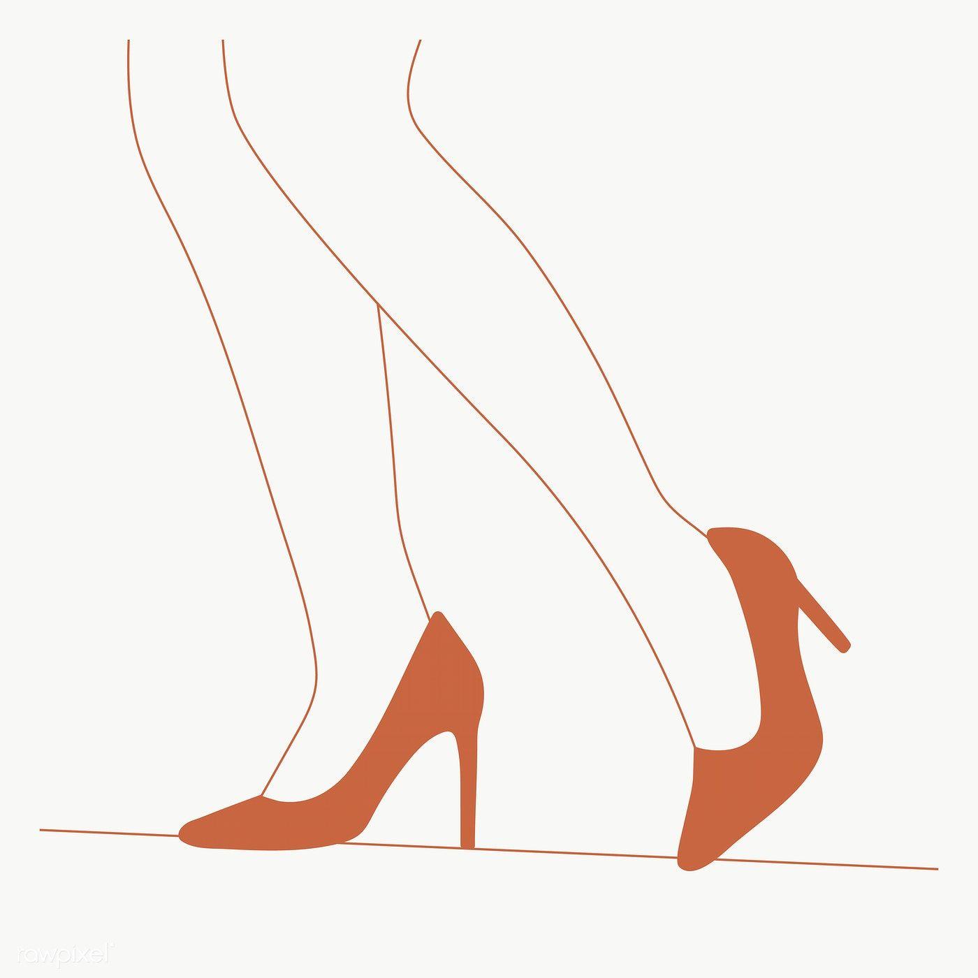 Download Premium Png Of Woman Legs In High Heel Shoes Transparent Png Women Legs Shoes Heels High Heel Shoes