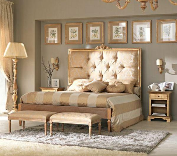 Les meilleures variantes de lit capitonn dans 43 images for Chambre a coucher parents
