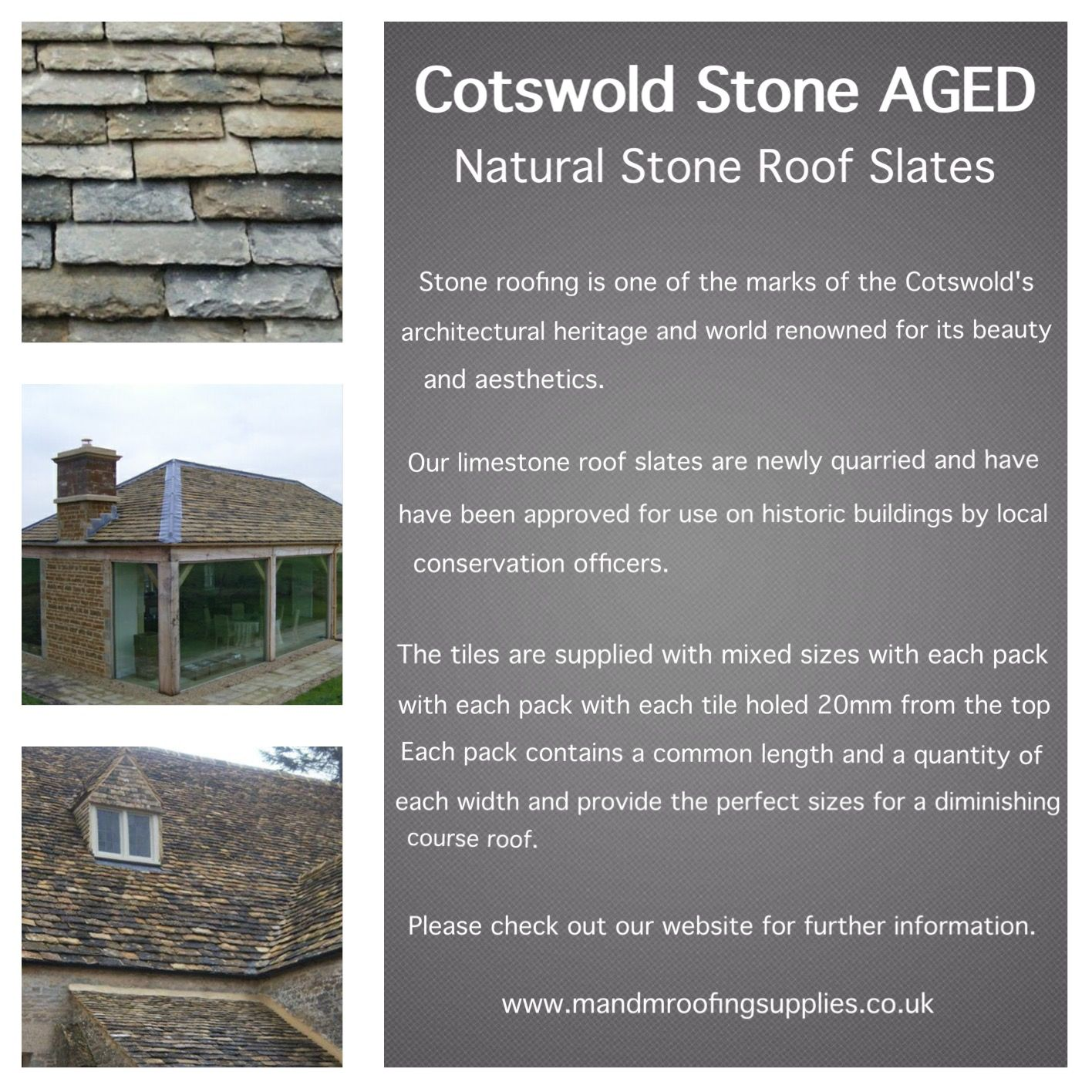 Costwold Stone Aged Roofing Supplies Roofing Clay Roof Tiles