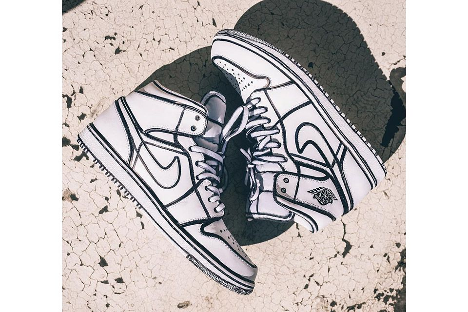 These Comic Book-Inspired Sneakers Will Make You Look Twice