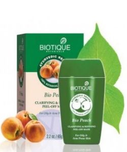 Biotique Women Bio Peach Clarifying Peel off Mask (65gm)