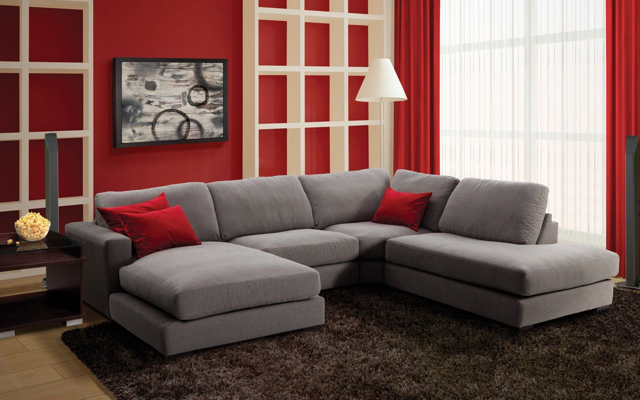 mobilier de salon sofas sectionnels inclinables. Black Bedroom Furniture Sets. Home Design Ideas