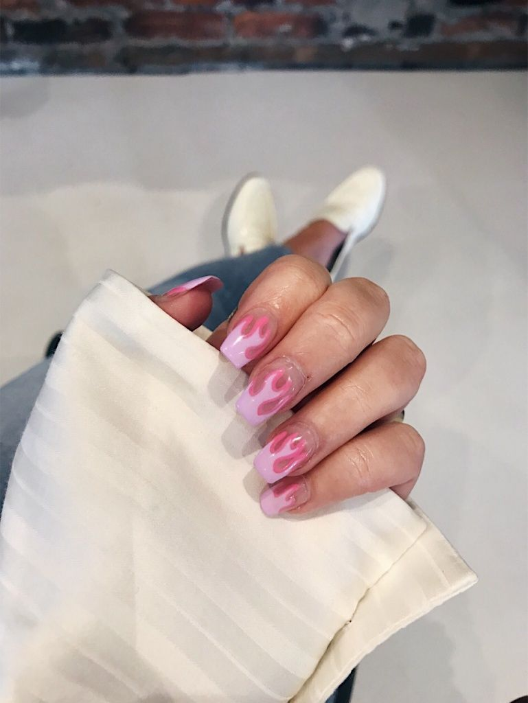Vsco Pureluxuriess Images Short Acrylic Nails Cute Acrylic Nails Fire Nails