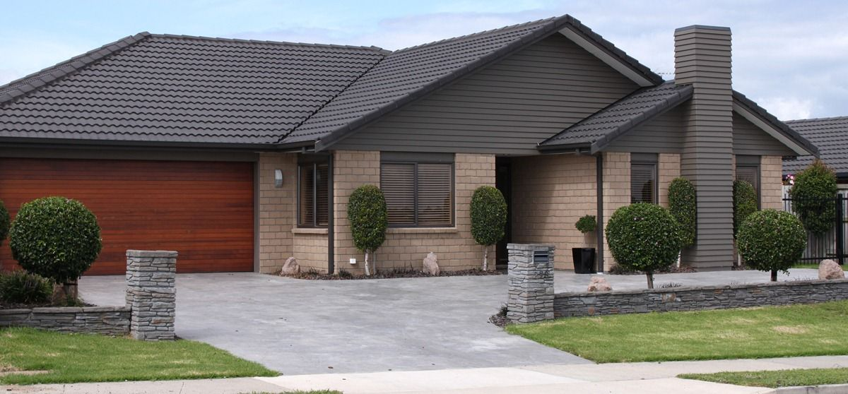 exterior brick and weatherboard colour house pinterest