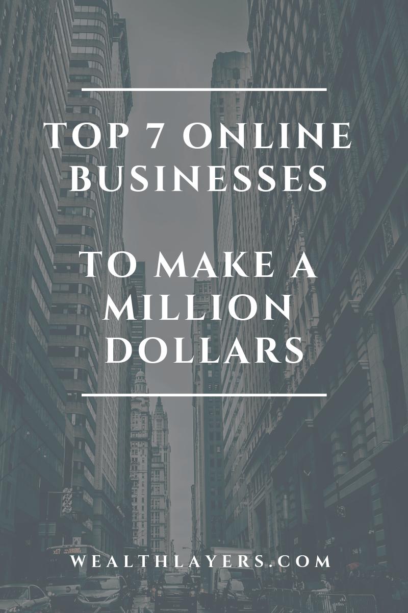 Million Dollar Online Business Ideas Online business