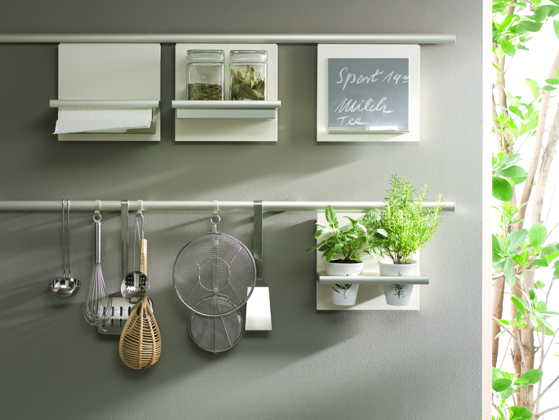 SieMatic Modern Kitchen Design Wall System Storage
