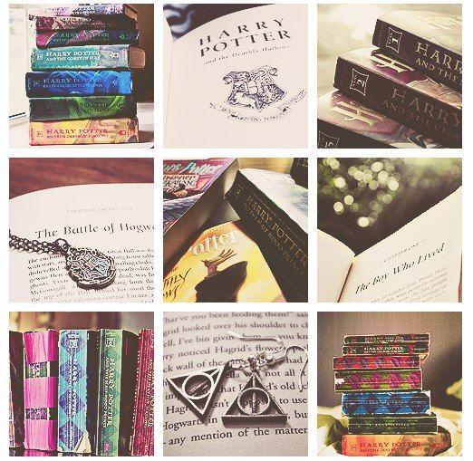 Harry Potter books...