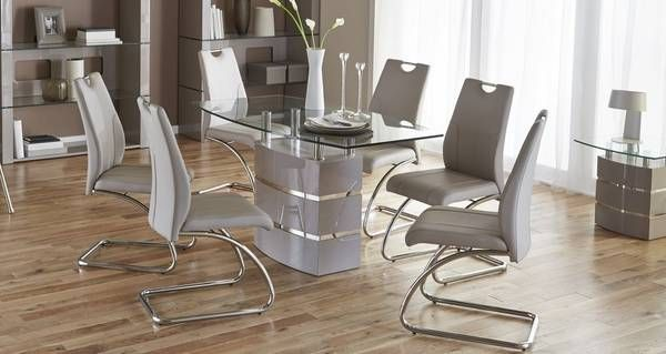 Piatto Fixed Dining Table And 4 Chairs  Dfs  Kitchen Ideas Best Dfs Dining Room Furniture Decorating Design