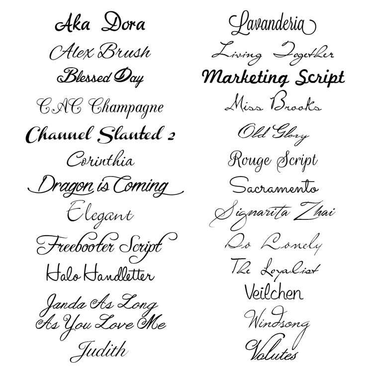 25 Free Script Fonts A Round Up Of Elegant Cursive Like To Download And Use