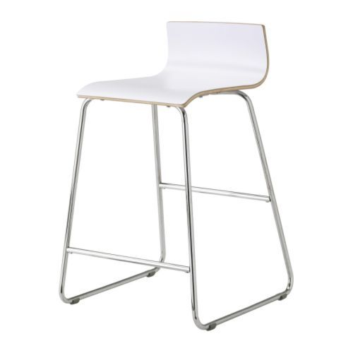 Ikea Affordable Swedish Home Furniture Tall Stoolswhite Bar Stoolskitchen