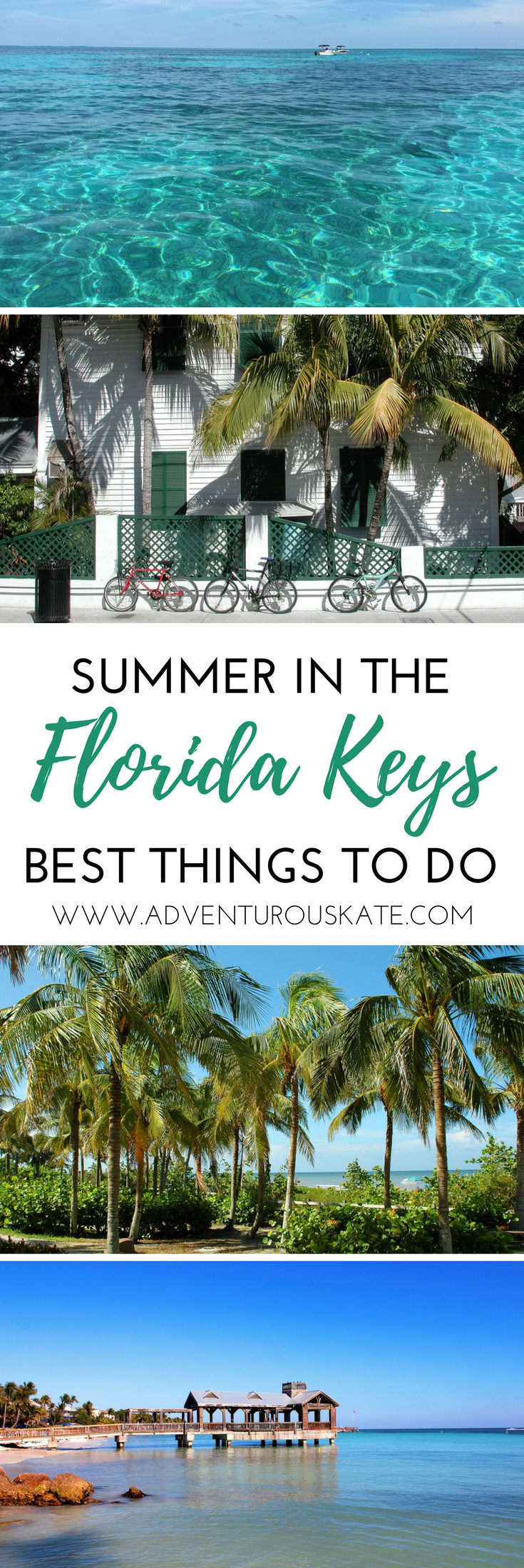 The ultimate guide to things to do in the Florida Keys. From where to find the best key lime pie to beautiful snorkeling beaches and even the top resorts and hotels to stay at while in the Keys. Road trip up and down the coast to make the most of your vacation. Travel in the Florida Keys. | Adventurous Kate: Solo Female Travel Blog #Florida
