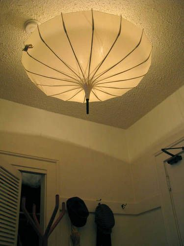 How To Use Umbrella Lights Impressive Like This But With Color  In The Nursery  Pinterest  Umbrella Design Inspiration