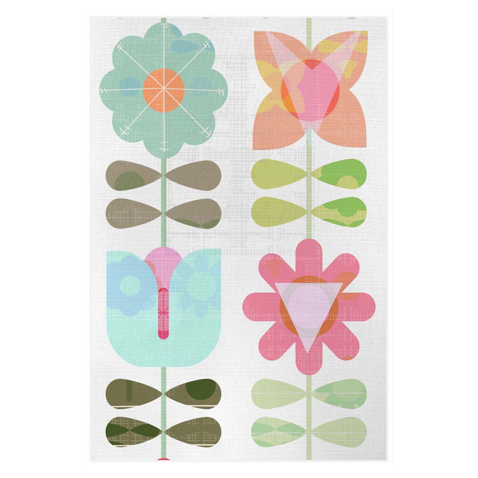 Ptm Images Paper Flower Iv Decorative Canvas Wall Art Wall Canvas Canvas Wall Art Image Paper