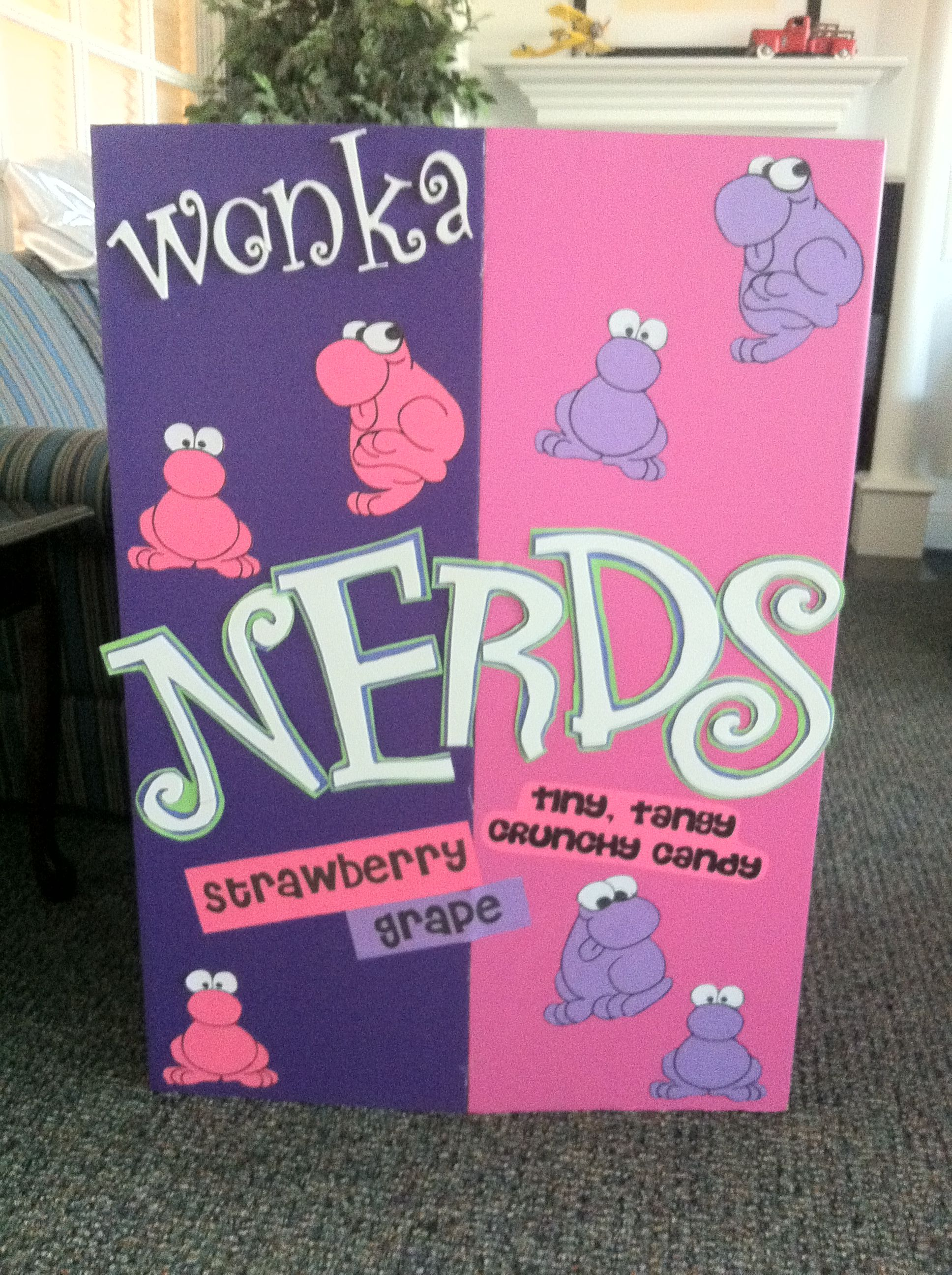 This is the Nerds Costume i made for our Wonka Themed