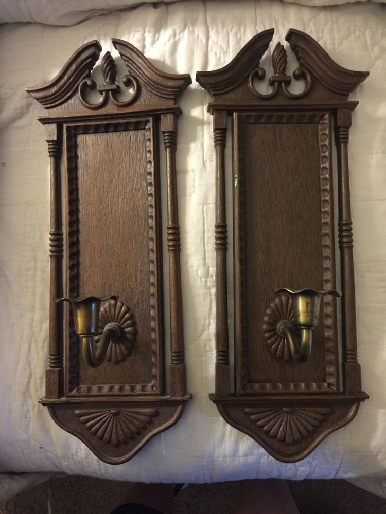 Vintage Home Interior Burwood Products Colonial Wall Sconce