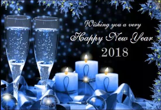 cheers new year eve 2018 greeting ecard wishes