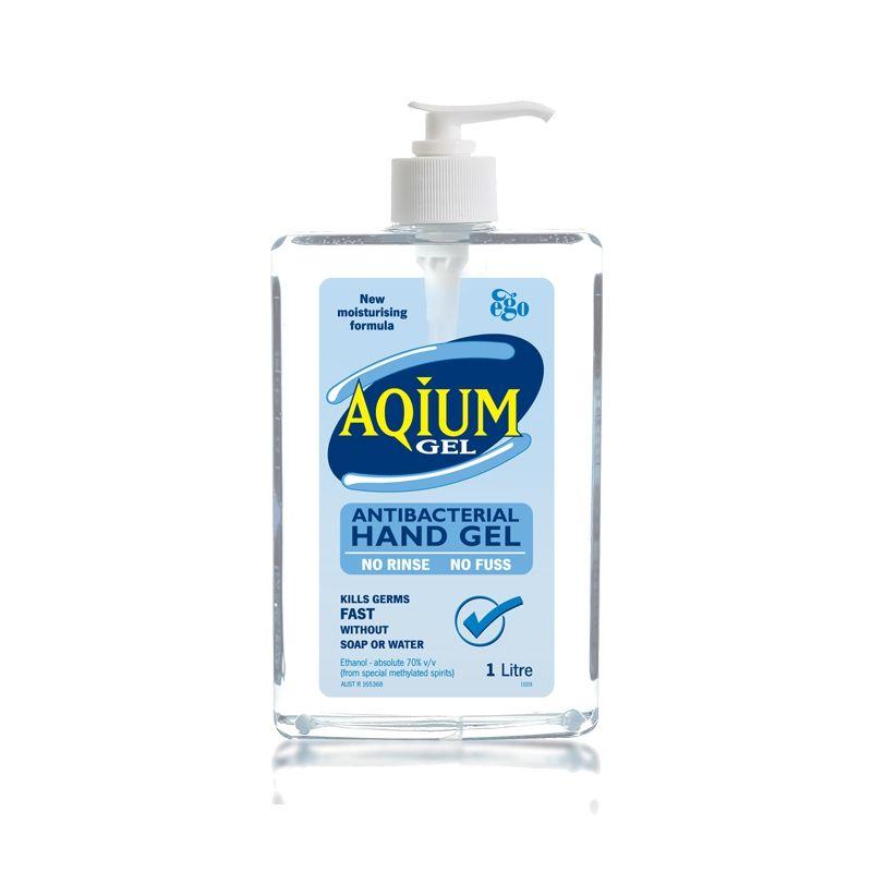 Aqium Antibacterial Hand Sanitiser 1l Hand Sanitizer Hands Soap