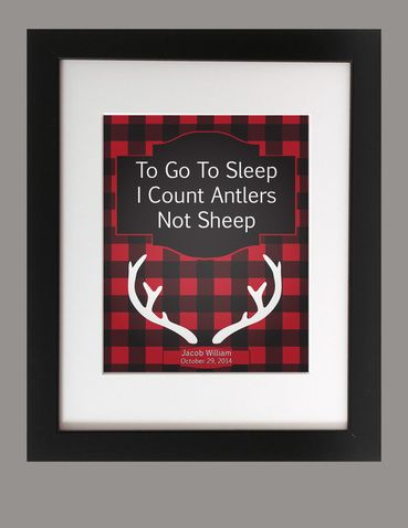 Custom To Go To Sleep Print. Customized print for boys room decor