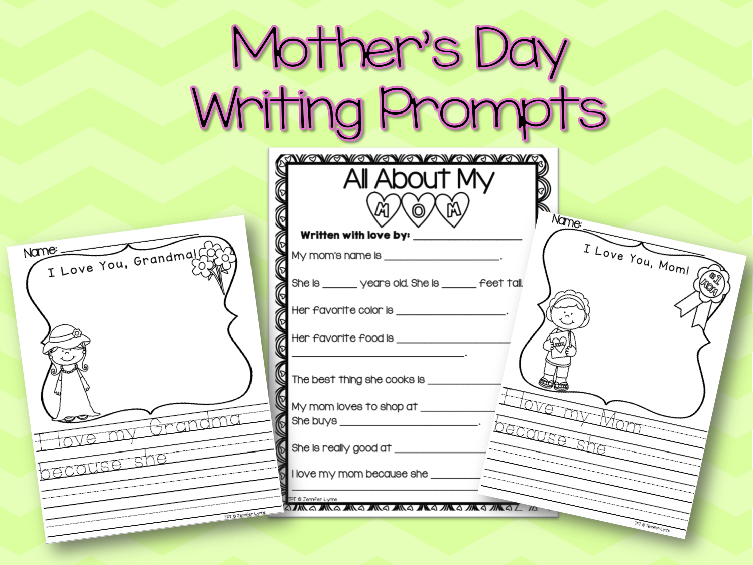 Mother S Day Writing Prompts With Images