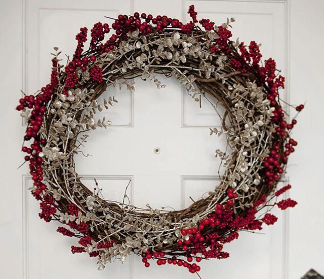 coronas de navidad diy manualidades para navidad manualidades para nios charhadascom - Coronas Navidad
