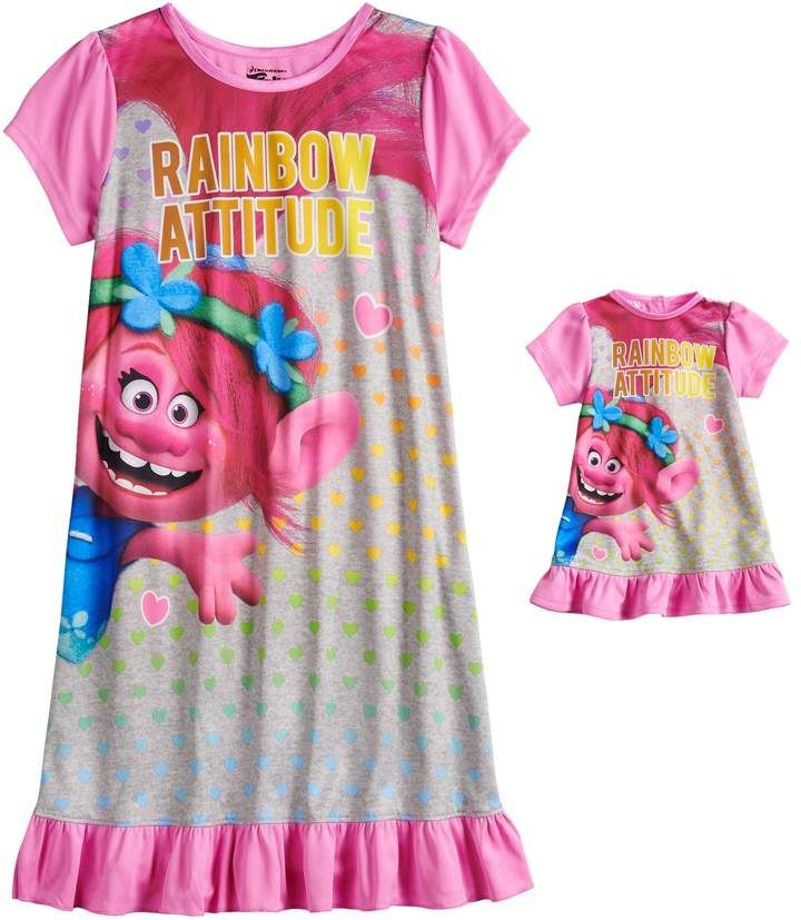 DreamWorks Girls Trolls Nightgown Nightgown