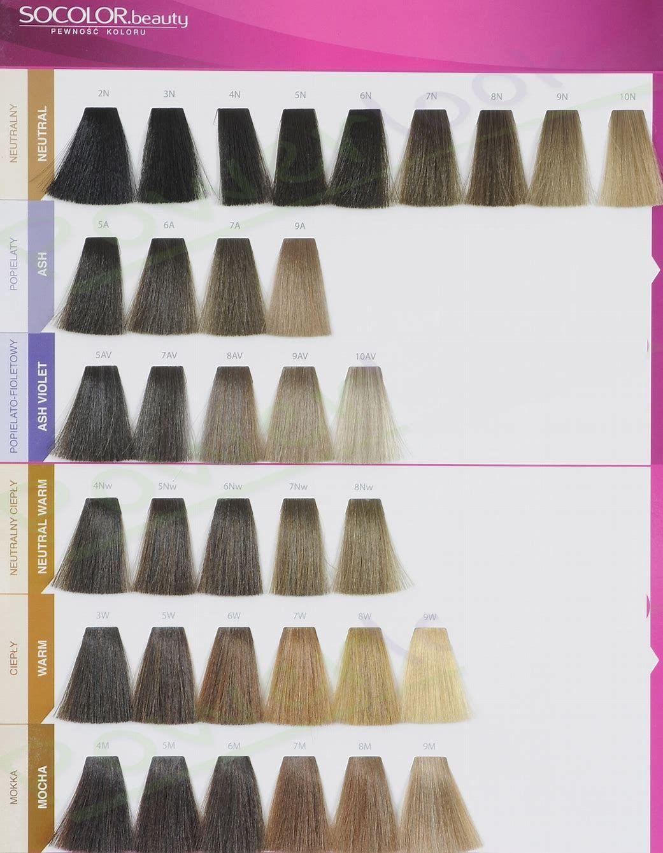 Resultado de imagen de Matrix Hair Color Swatch Book (With