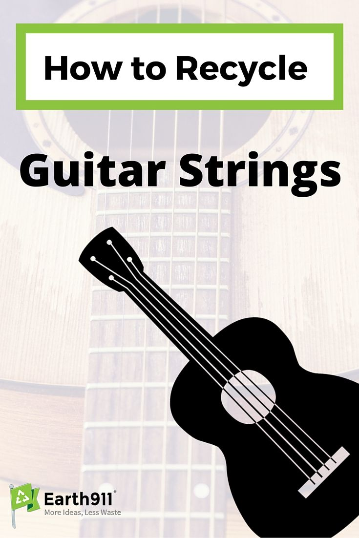 guitar string recycling partnership hits high note guitar strings