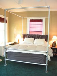 Canopy Bed - Project - Simplified Building & Canopy Bed - Project - Simplified Building | PVC pipe creations and ...