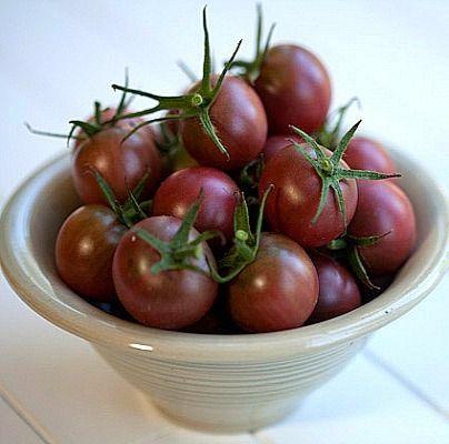 Black Cherry Tomato Heirloom Tomato Seeds Cherry Tomato 400 x 300
