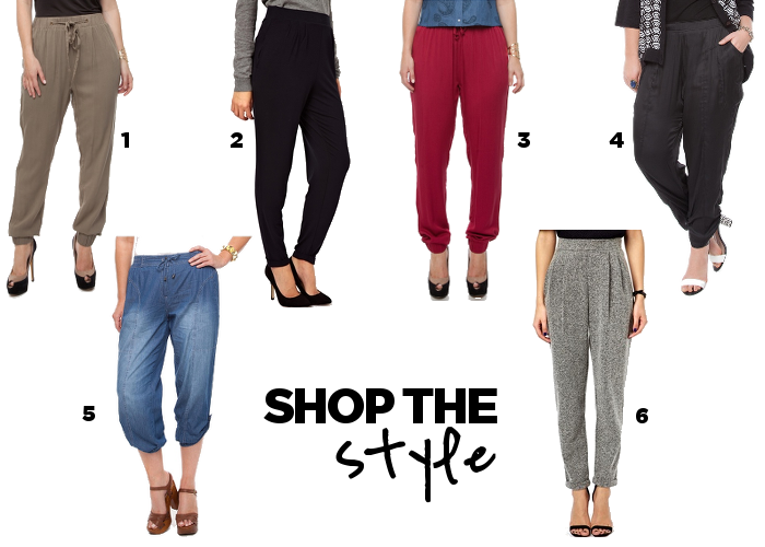 Steal Her Style: Harem Pants for Summer #plus #size #fashion #blog #harem #pants #slouch