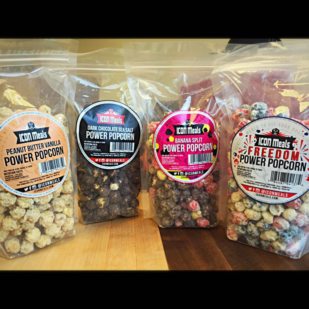 6 Flavors Protein Popcorn Variety Pack Icon meals