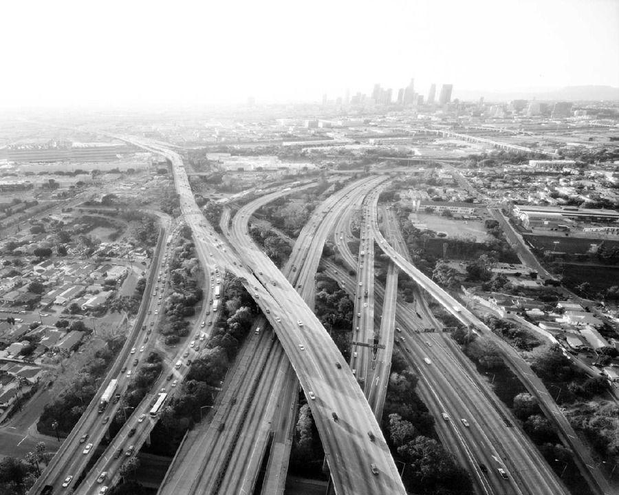 los angelas freeways   Los Angeles   Pinterest
