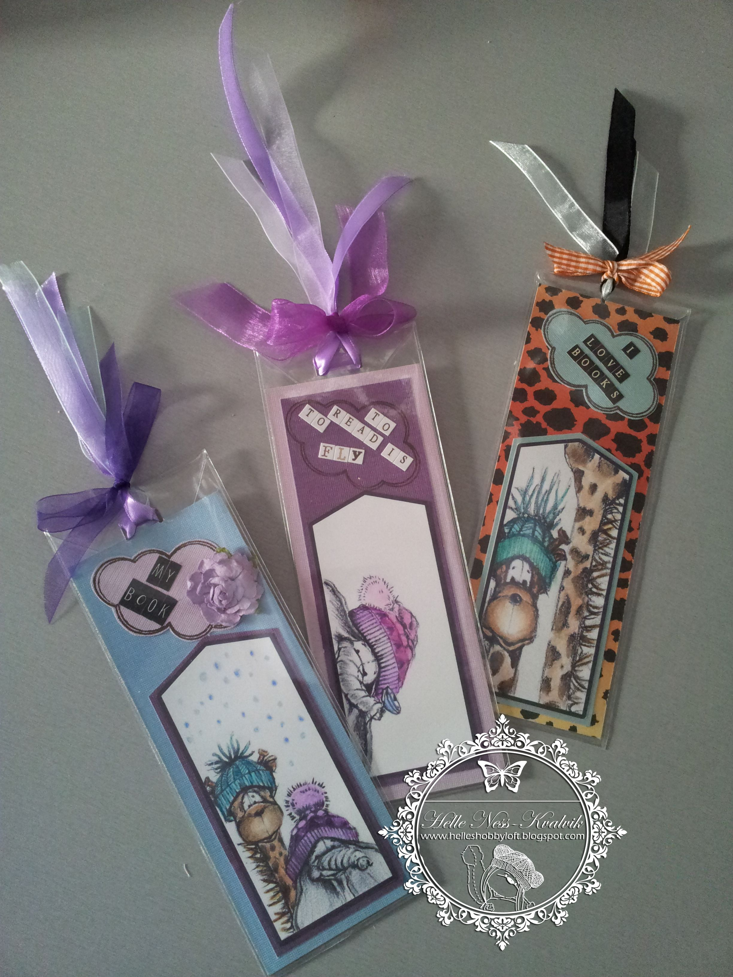 Bookmarks I've made for friends :-)