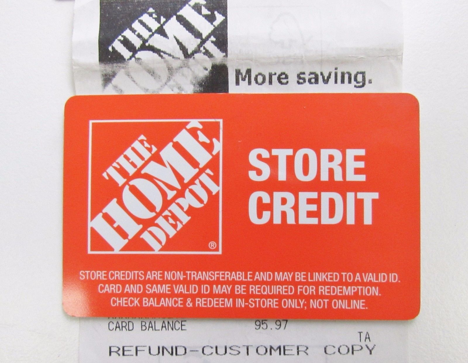 Coupons giftcards home depot store credit 9597