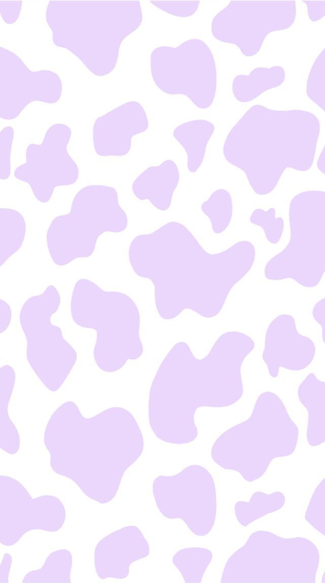 Purple Cow Print | พื้นหลังดิสนีย์, พื้นหลังสีพาสเทล, การออกแบบพื้นหลัง DD8