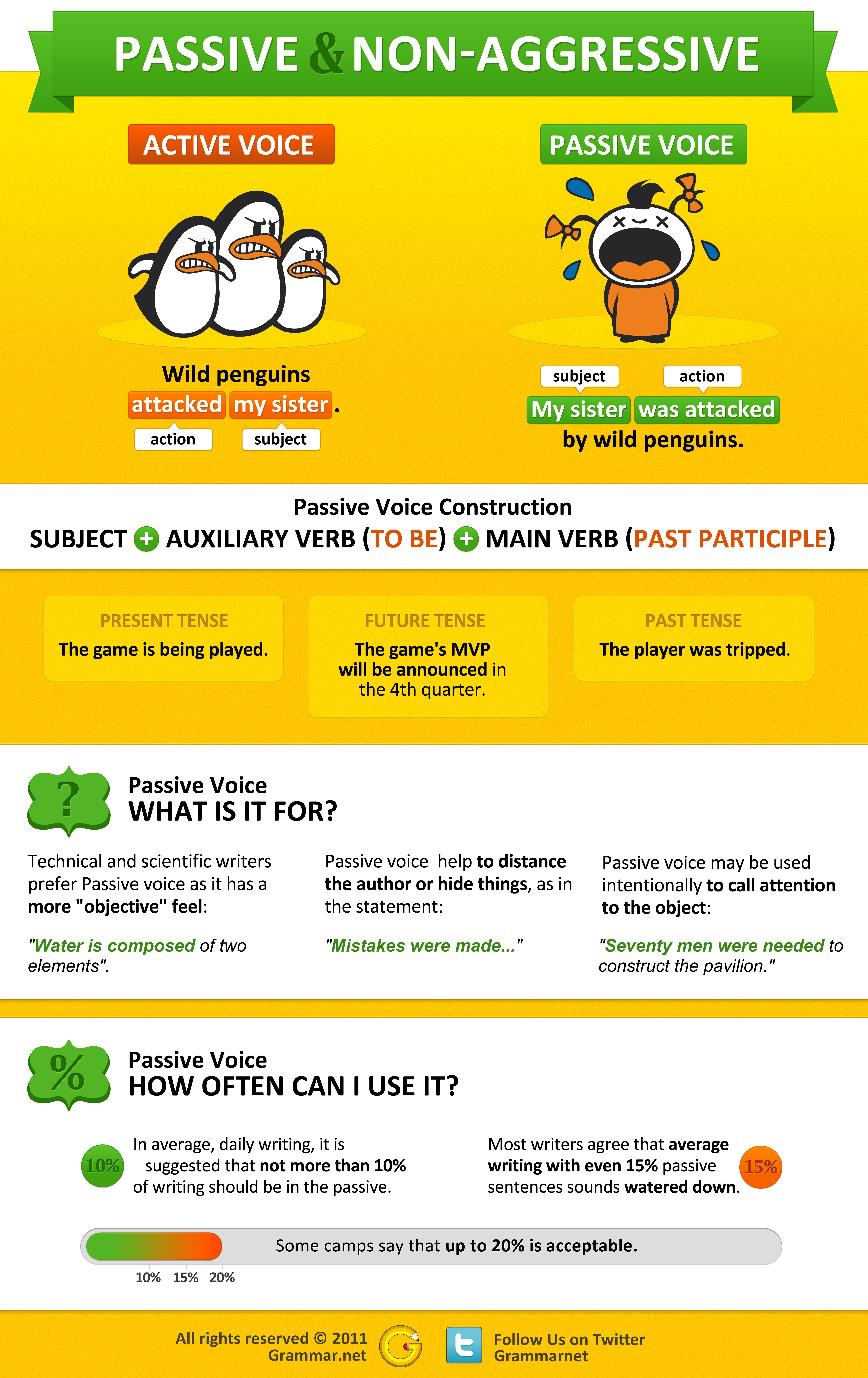 Passive And Active Voice The Difference Is Focus And Who