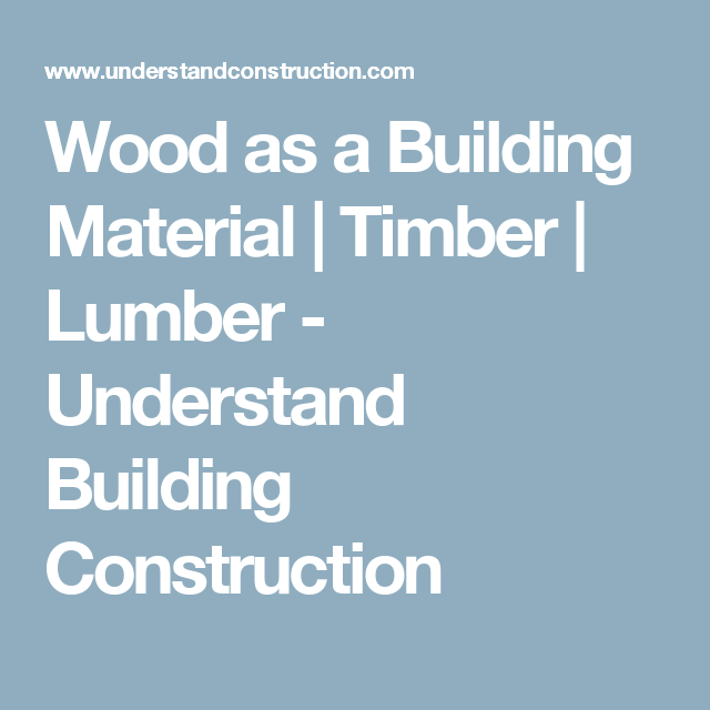 Architecturehome Design: Wood As A Building Material