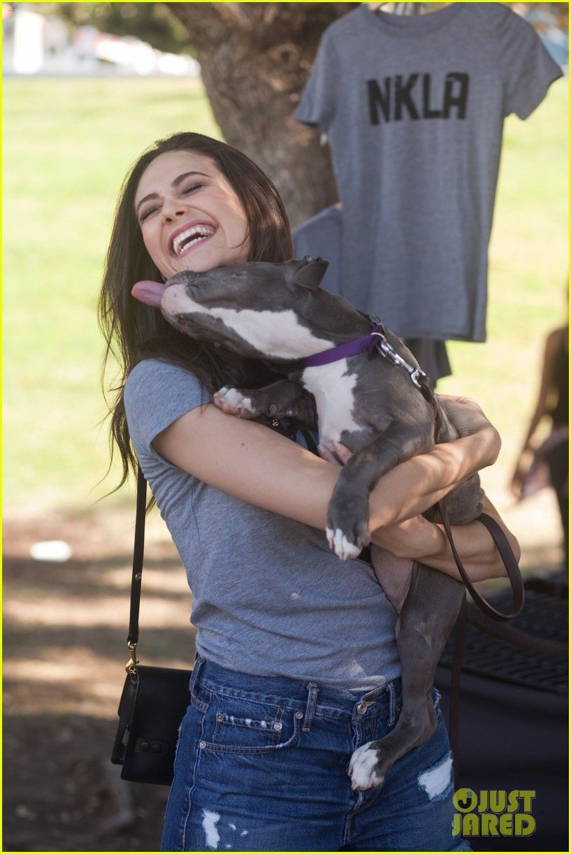 Emmy Rossum Adopted the Cutest Shelter Dog See Their