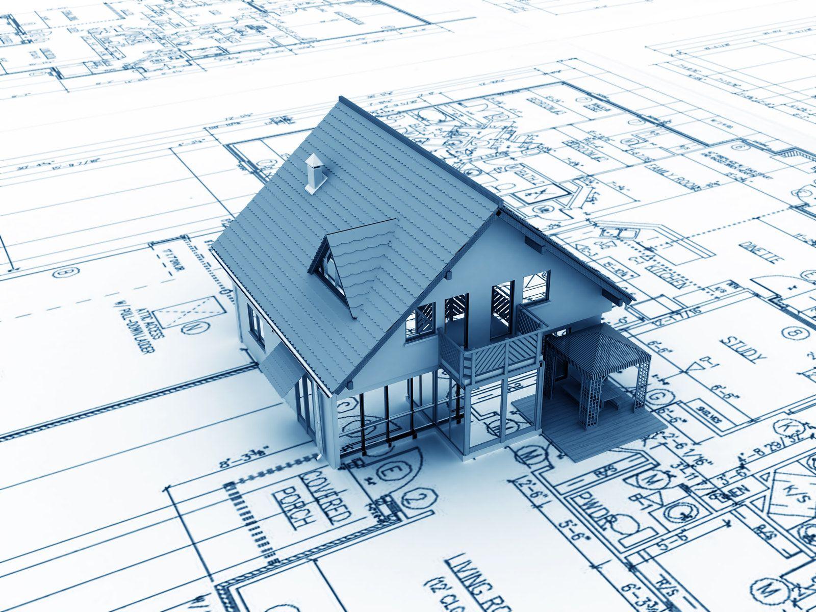 Home construction project plans