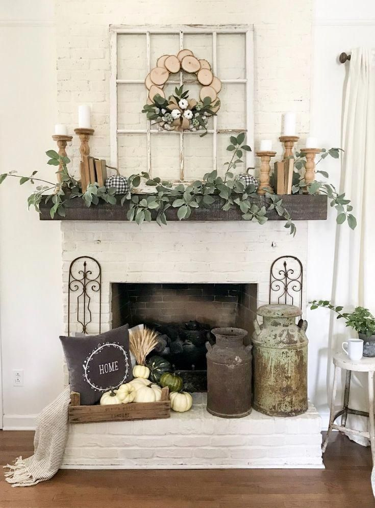 My Fall Mantel Decor With JOANN | Bless This Nest