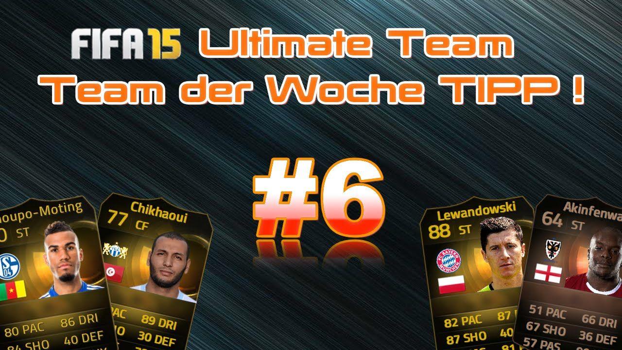 IFA 15 TDW Prognose I 6 I Tipps zum 21. Team of the week
