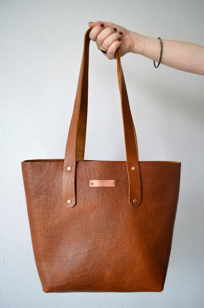 Obsessing over the Holden Totes from H. + Clark. It's just the right size and sits comfortably on the shoulder.